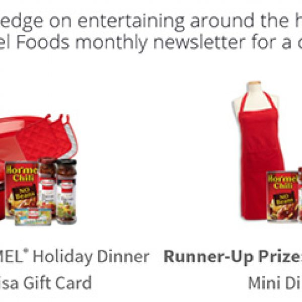 Win A Hormel Holiday Dinner Kit & $100 Gift Card