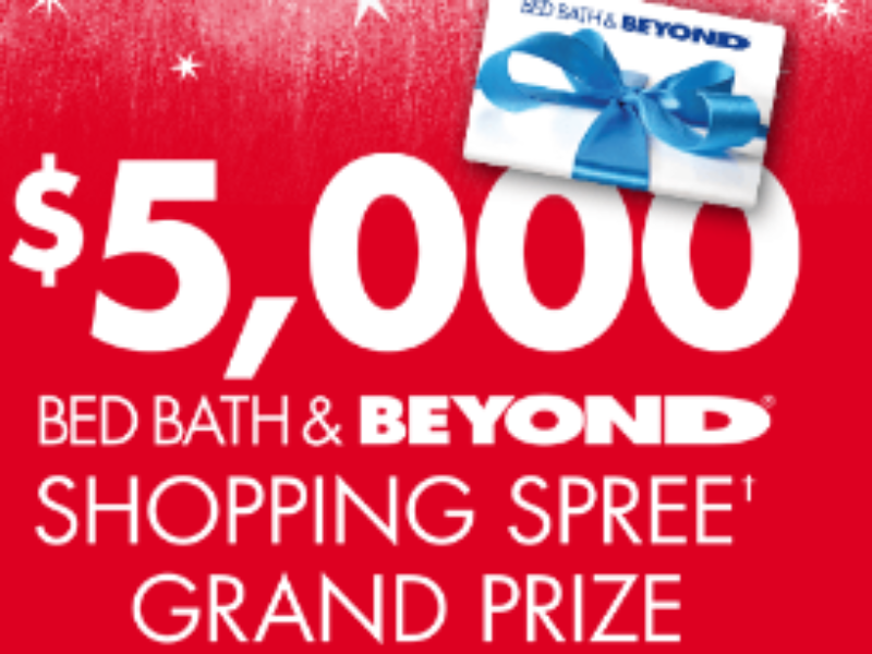 Win a $5000 Shopping Spree & Daily Prizes