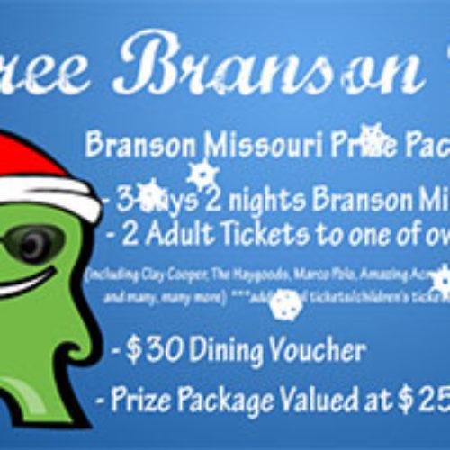 Win A Branson, Missouri Vacation