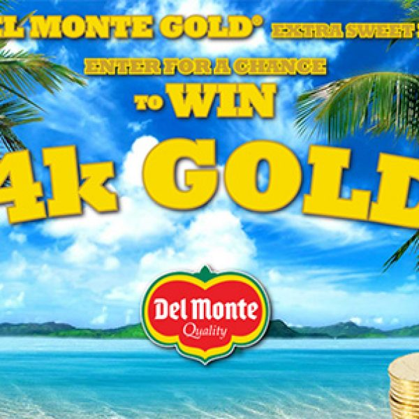 Del Monte Gold For Gold Sweepstakes