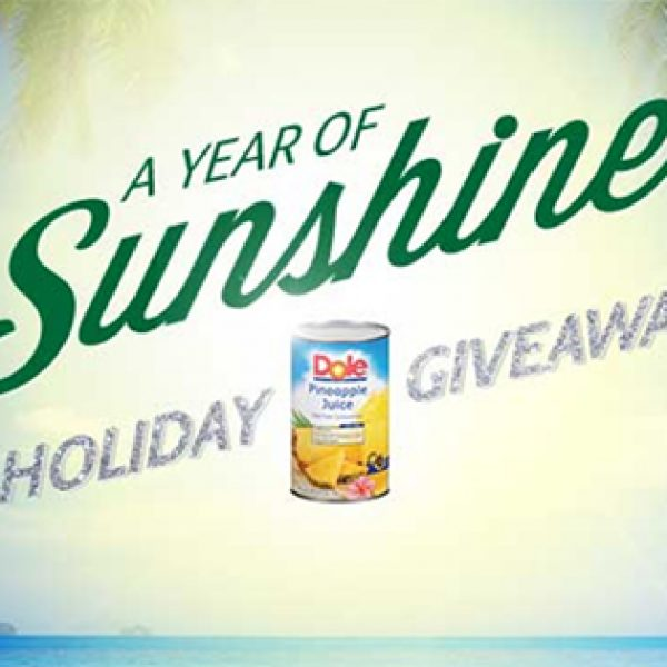 Win A Trip To Hawaii From Dole