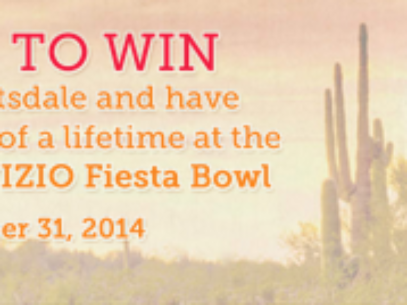 Win VIP trip to Fiesta Bowl