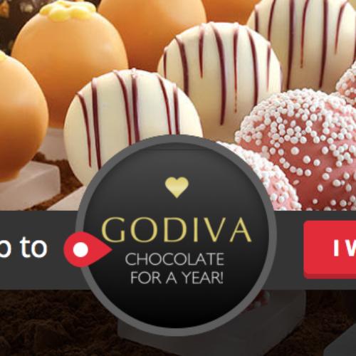 Win a Year of GODIVA Chocolate