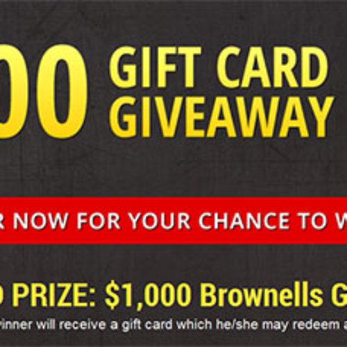 GunZillion: $1,000 Gift Card Giveaway