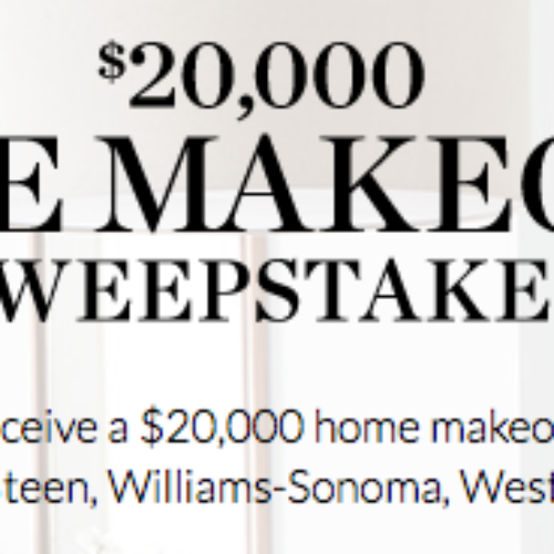 Win $20,000 Home Makeover from Pottery Barn