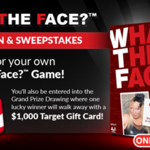 """Win $1000 Target Gift Card from """"What the Face?"""" Game"""