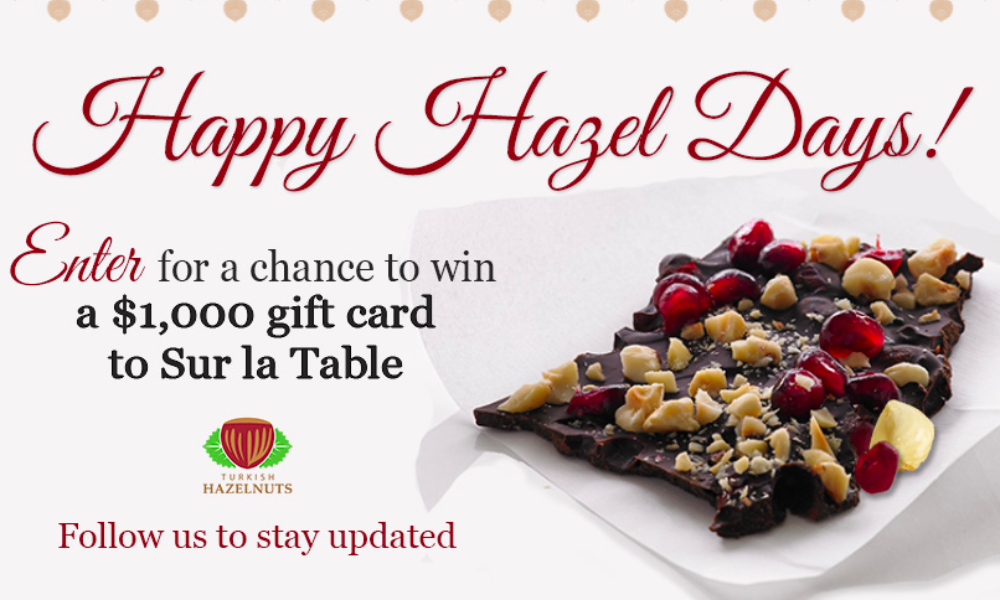 Win a $1,000 or $250 Sur la Table Gift Card