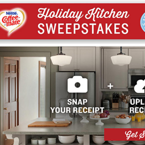 Coffee-Mate: Win A $25,000 Kitchen Makeover