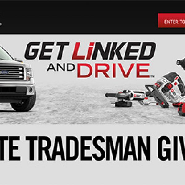 Win A 2015 Ford F150 & Porter Cable Tools