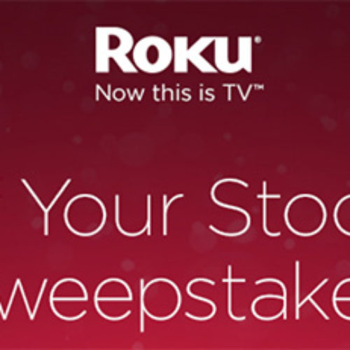 "Win A 40"" Roku HDTV, Roku 3, $200 Amazon Gift Card & More"