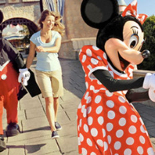 Win a 5-day/4-night Disney Parks Vacation Package for Four from Smucker's