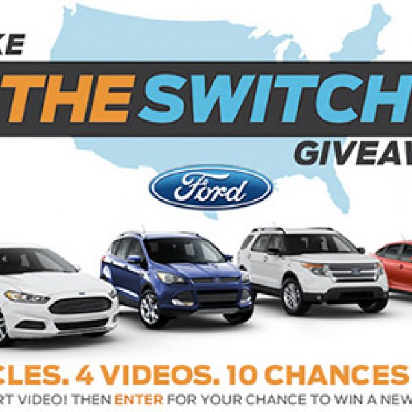 Win One $30,000 Voucher for 2015 Ford Vehicle
