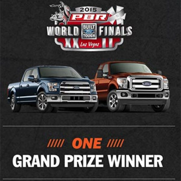 Win A 2015 Ford F-150 & Trip To PBR World Finals & Donation