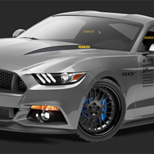 Win The 2015 UTI / Pennzoil Tjin Edition Ford Mustang GT