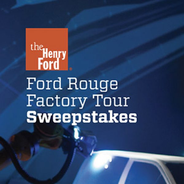 Win VIP Ford Tour and $1,000 in Shell gas.
