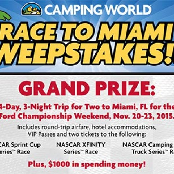 Win A Trip To The Ford Championship Weekend