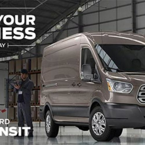 Win A 2015 Ford Transit + $5,000