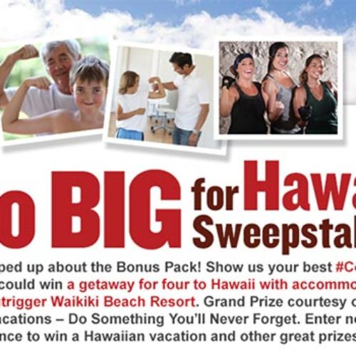 Win A Getaway For Four To Hawaii