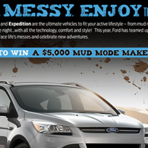 Win $5,000 from Ford Motors