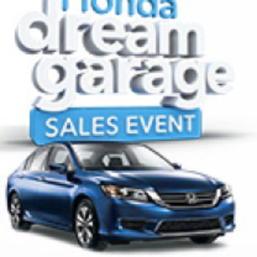 Win a $50,000 Dream Garage from Honda