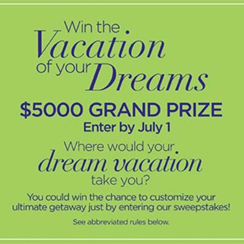 Win a $5k Dream Vacation