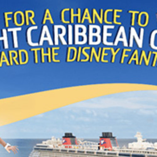 Win a 7-night Disney Cruise Line Vacation for Four