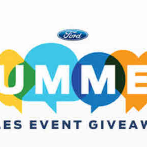 Win a Ford Car, Truck or SUV