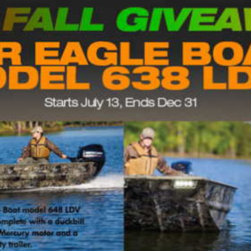 Win a War Eagle Boat
