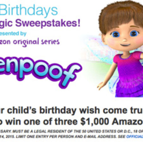 Win One of Three $1,000 Amazon Gift Cards