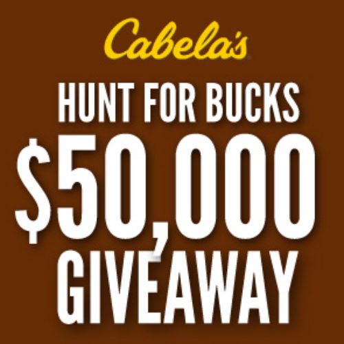 Win 1 of 25 $2,000 Cabela's Gift Cards