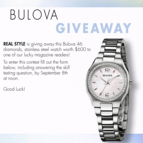 Win a Bulova Watch