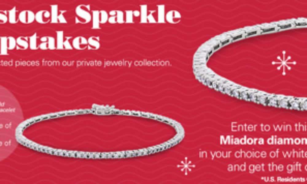Win a Miadora Diamond Bracelet