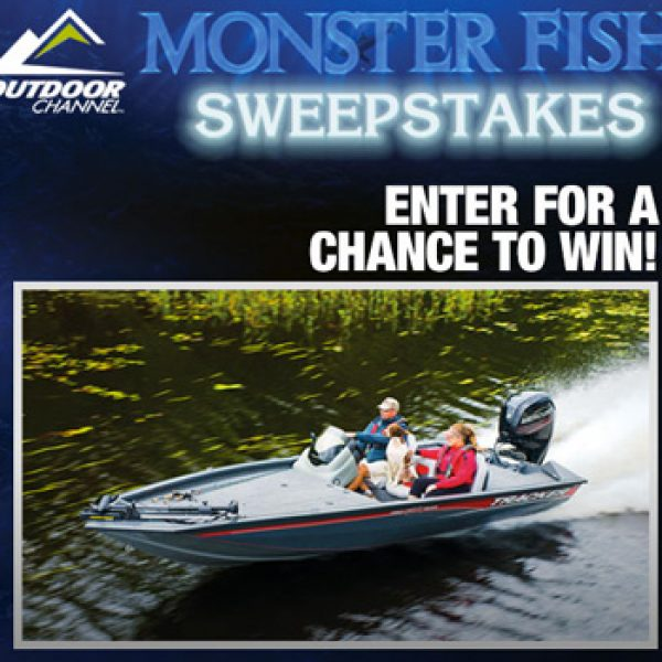 Win a 2016 pro team 190 tx boat granny 39 s giveaways for Bass pro shops monster fish