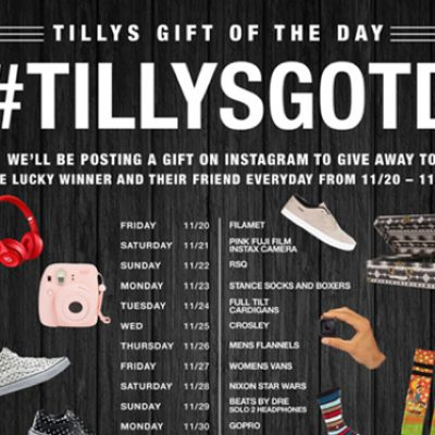 Lucky magazine daily giveaways