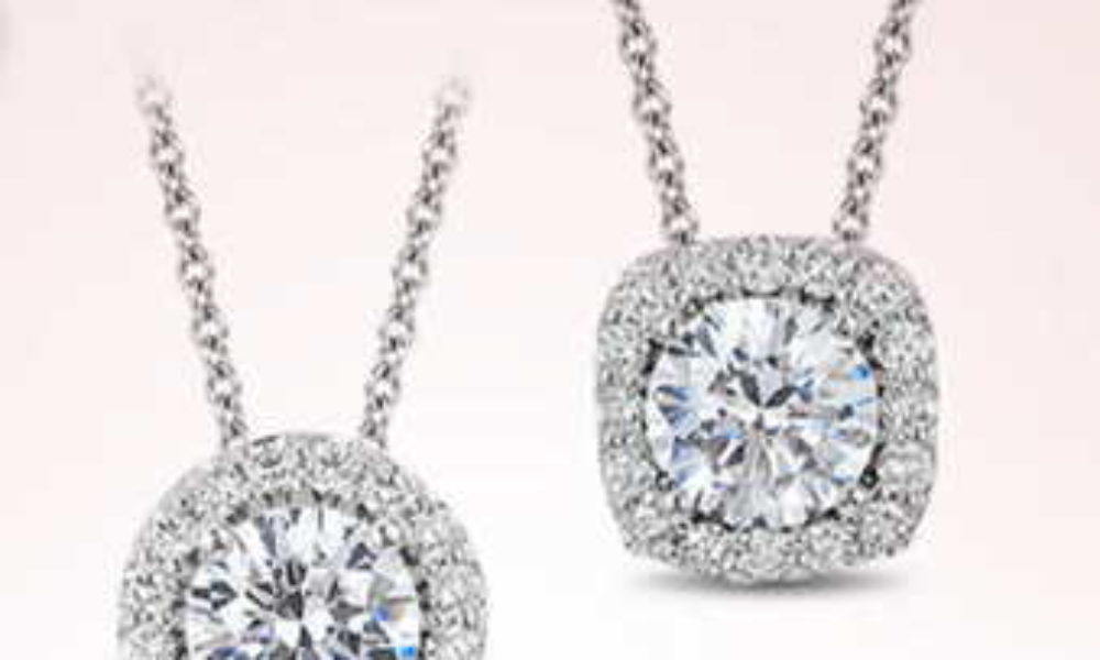 Win a Halo Diamond Pendant