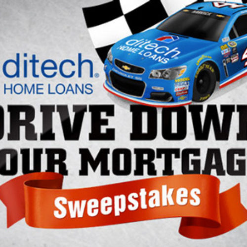 Drive Down Your Mortgage Giveaway from Ditech