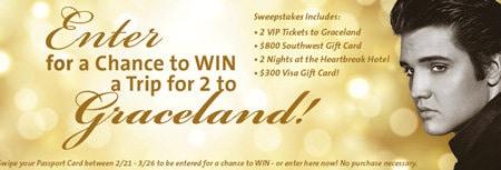 win trip to graceland