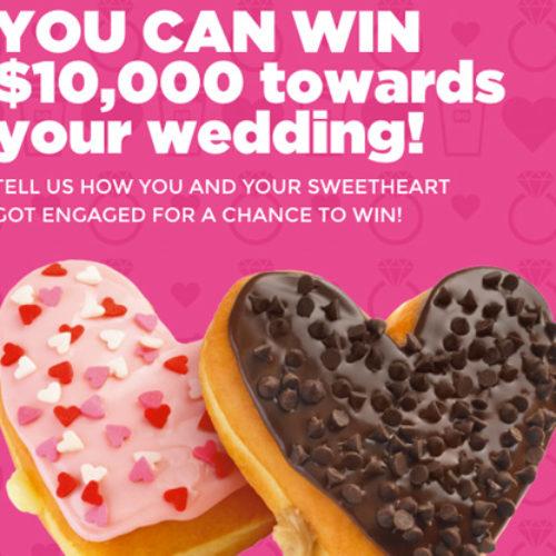 Win 10K towards your 2016 Wedding