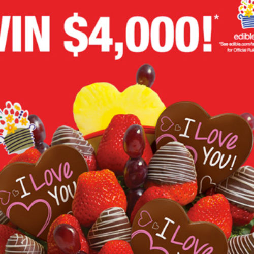 Win $4,000 Cash from Edible Arrangements