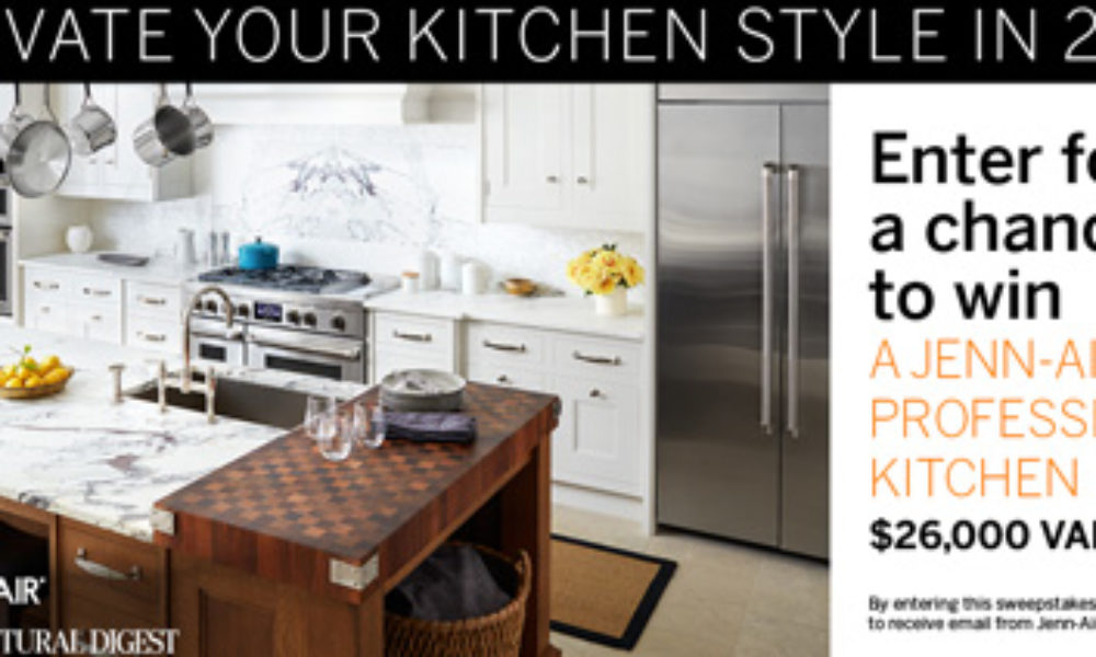 Win a Complete Suite of Jenn-Air Appliances