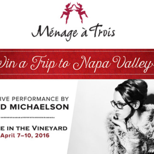 Win a Trip to Live in the Vineyard in Napa, California