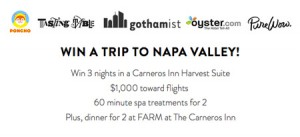 napa giveaway