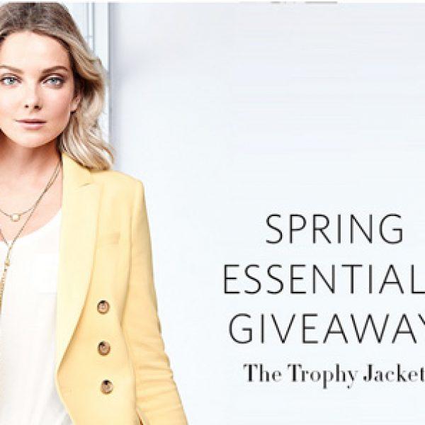 Win White House Black Market Spring Essentials