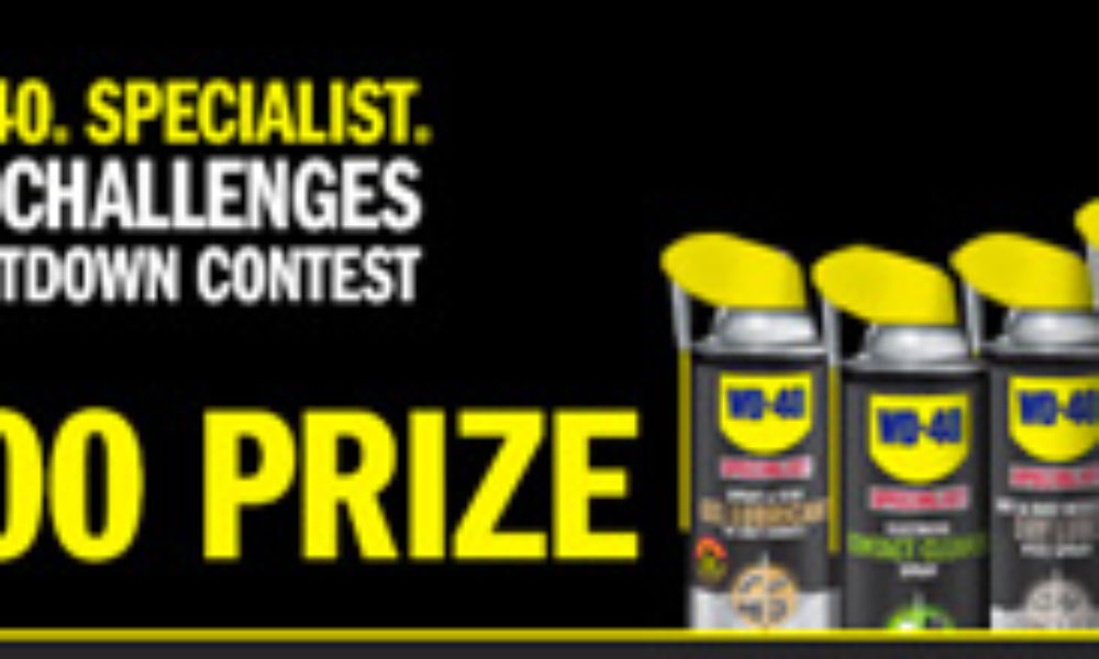 Win $10,000 Cash from WD-40