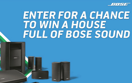 Bose Home Entertainment Giveaway