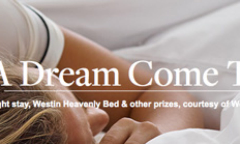 Westin Heavenly Bed Giveaway