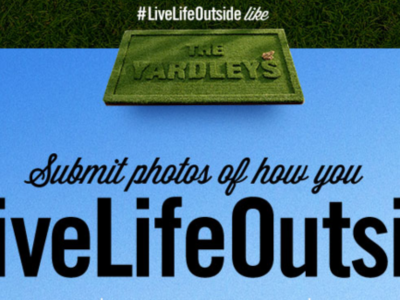 Trugreen #LiveLifeOutside like The Yardley's Contest