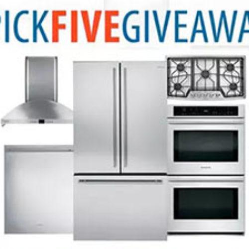 Win Five GE Appliances