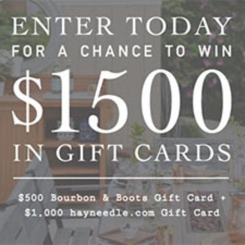 Win $1,500 In Patio Gear & Decor