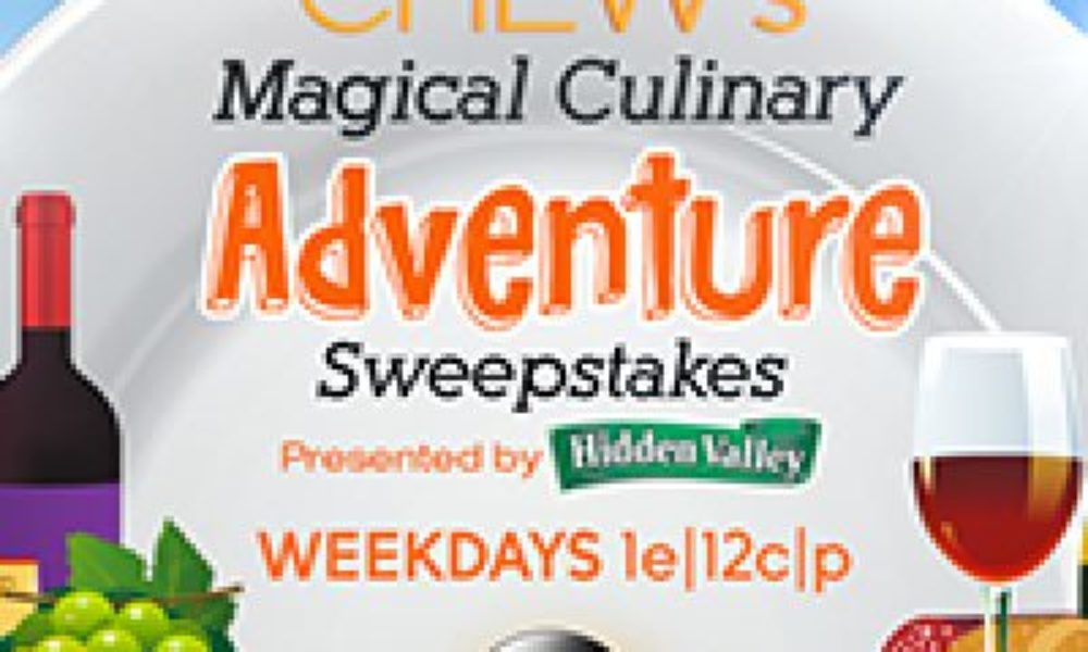 The Chew: Magical Culinary Adventure Sweepstakes